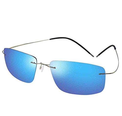 Soleil De Polarisées Hommes Ultralight Lunettes Outdoor Sports blue De UV Lunettes Pour Lunettes Soleil Hommes De Pour Soleil 1nqx4RF