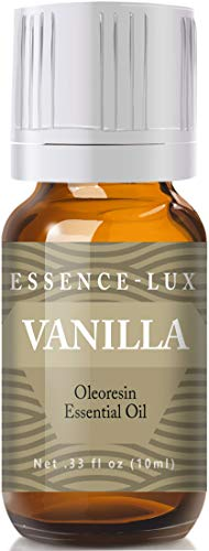 Vanilla Essential Oil - Pure & Natural Therapeutic Grade Essential Oil - 10ml (Best Natural Essential Oils)