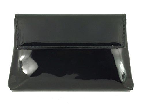 LONI - Cartera de mano para mujer gris gris Medium negro