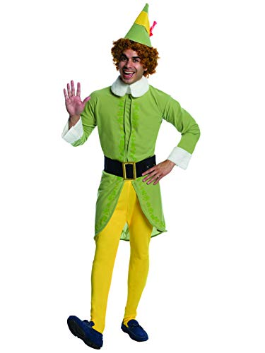 Elf Movie Buddy The Elf Costume, Green, Standard -