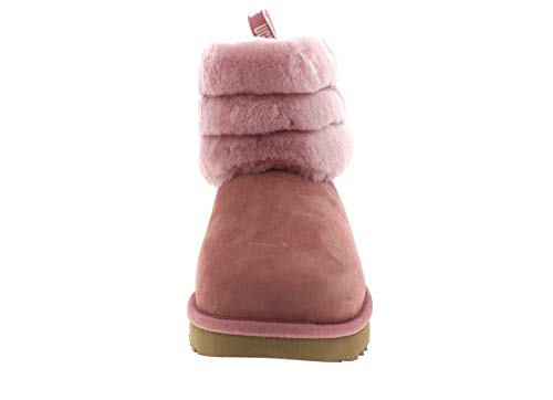 Fluff Eu Dawn Quilted Stivali Taglia Mini Ugg Pink 39 6qBx45wvv