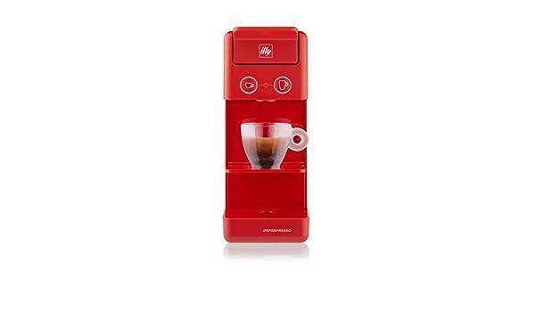 illy Caffè - Cafetera de cápsulas Iperespresso Y3.3, color rojo ...