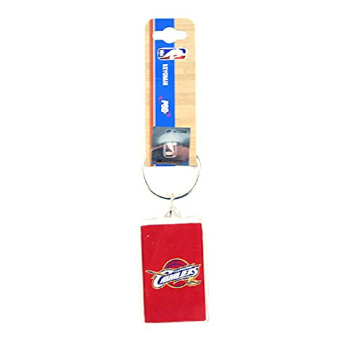 NBA Premium Team Logo Acrylic Keychain Key Ring (Cleveland Cavaliers)