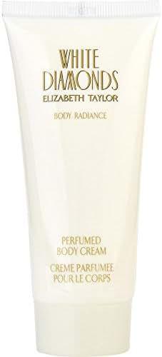 WHITE DIAMONDS by Elizabeth Taylor BODY CREAM 3.3 OZ (Package Of 2)