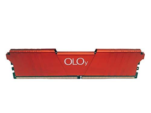 OLOy DDR4 RAM 16GB (1x16GB) 2400 MHz CL17 1.2V 288-Pin Desktop Gaming UDIMM for Intel (MD4U162417IFSB)