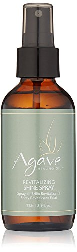 Oil Revitalizing Hair (Agave Healing Oil - Revitalizing Shine Spray. Anti Frizz Hydrating Mist for Instant Lightweight Moisture and Shine. Sulfate Free, Paraben Free, Phthalate Free and Cruelty Free (3.9 fl.oz))