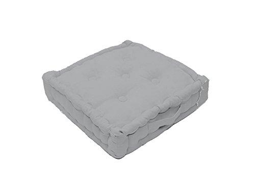 Cuscino Materasso per Sedia in Cotone Panama Grigio Chiaro Prezzi offerte
