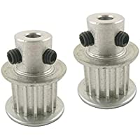 NO LOGO L-Tao-Pulley, 2pcs 10T XL Polea 4/5/6/6.35