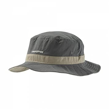 Craghoppers Nosilife Sun Hat, Small/Medium, Dark Khaki/Pebble Craghoppers (Import) cmc077