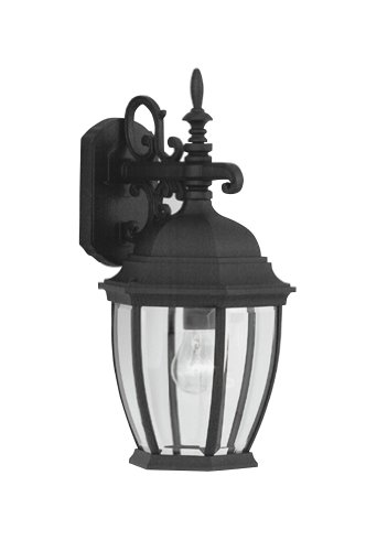 Designers Fountain 2431-BK Tiverton Wall Lanterns, Black by Designers Fountain