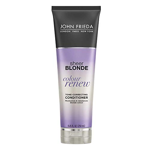John Frieda Sheer Blonde Colour Renew Purple Conditioner, 8.45 Ounce
