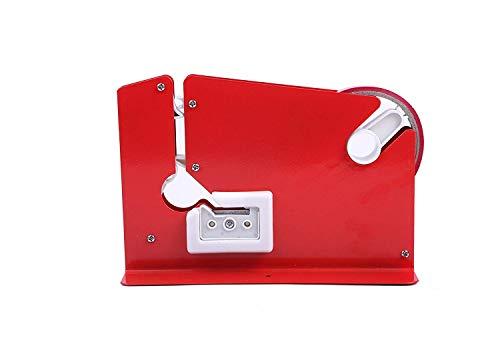 Swift Red Metal Bag Neck Sealer With 6 Free Rolls Of Tape Bag Neck Sealing Tape