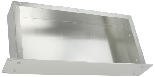 BUD Industries CH-14403 Aluminum Small Rack Mount Chassis 17 Width x 3-1/2 Height x 8 Depth Natural Finish