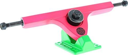 Caliber II Fifty Caliber 10/50deg.Acid Melon Pink/Green Skateboard Trucks (Set of 2) by Caliber   B00MIGRQX8