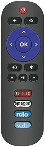 New Remote RC280 have compatibility for TCL ROKU TV 40FS3750 55UP120 40FS4610R 65US5800 32S3800 28S3750 32S3700 55UP130 50UP130 43UP130 Compatible with 2014 2015 TCL TV