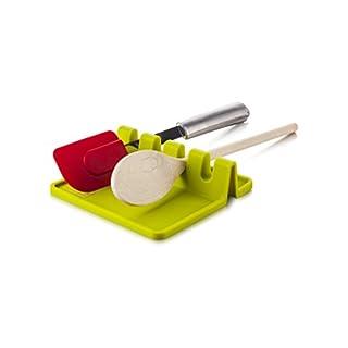 Tomorrow's Kitchen Silicone Utensil Rest, Green
