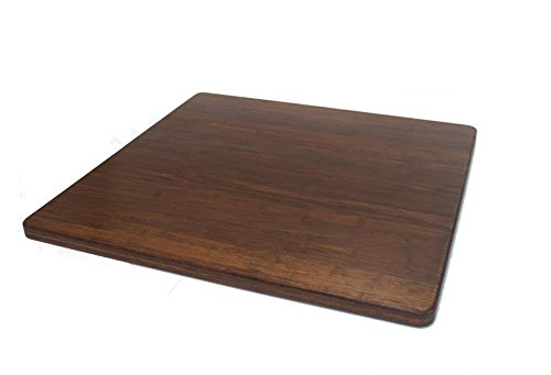 Strand Woven Bamboo Cutting Board - 24'' x 24'' x 1'' by JMX Bamboo