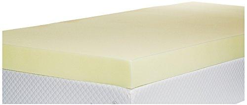 Memory Foam Mattress Topper, 4 inch - UK King Size