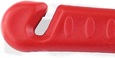 1 Taille Goldyqin S/écurit/é Marteau Voiture Multifonction Auto-Assistance /évasion Marteau Incendie durgence fen/être Brise-vitre cogner Verre Rouge