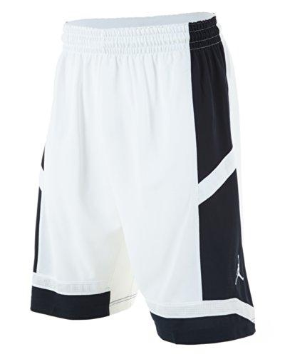 Jordan Mens Team Prime.Fly Flight Game Shorts XX-Large White/Obsidian