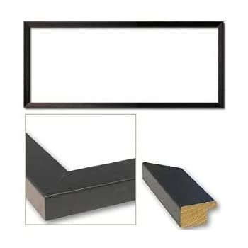 Amazoncom 135x40 135 X 40 Flat Black Solid Wood Frame With Uv