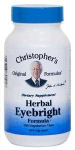 Dr. Christopher's Herbal Eyebright Formula 100 Veg Caps