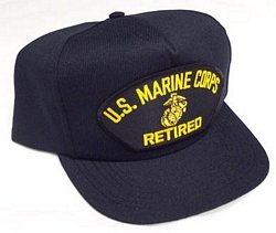 U.S. Marine Corps Retired Ballcap