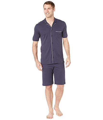 Hanro Herren Zweiteiliger Schlafanzug