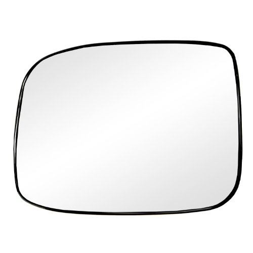 Fit System 88240 Chevrolet/GMC Left Side Manual/Power Replacement Mirror Glass with Backing Plate 2007 Chevrolet Colorado Replacement