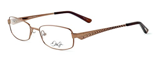 Dale Earnhardt Jr. 6721 Designer Reading Glasses in Brown. Custom made using high quality eyeglass frames and prescription reader lenses. - Made Eyeglasses Custom