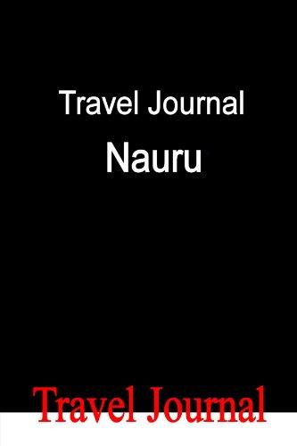 Travel Journal Nauru