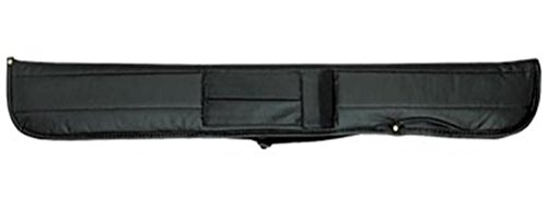 Action Soft Cue Case (1 Butt and 1 Shaft), Black (Soft Cue Case Billiard)