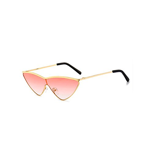 GAMT Cat Eye Sunglasses With Golden Plating Metal Frame Fashion Design Watermelon Red - Sunglasses Watermelon