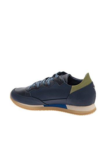 Philippe Model - Botas de senderismo para hombre azul turquesa 42 turquesa