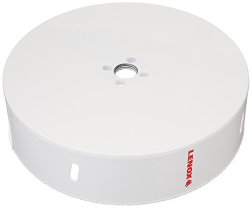 Lenox Tools 30863658RL Master Grit Recessed Lighting Hole Saw, 6-5/8-Inch (Recessed Hole Lighting Saws)
