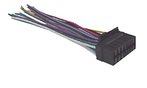 31URGvRUfUL amazon com mobilistics wire harness fits sony cdx gt620u, cdx sony cdx gt650ui wiring harness at aneh.co