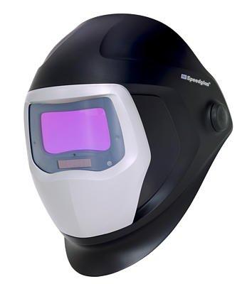 3M Speedglas Welding Helmet 9100 with Large Size Auto-Darkening Filter 9100X- Shades 5, 8-13, Model 06-0100-20SW