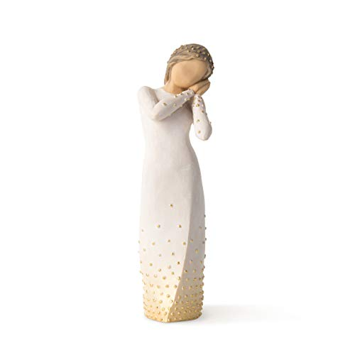 Willow Tree Wishing, Sculpted Hand-Painted Figure
