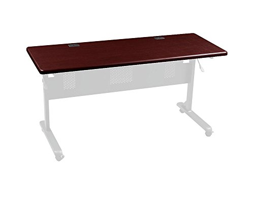 Balt Flipper 3624 Conference / Training Table Rectangle - Mahogany by Generic