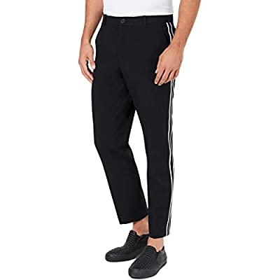 INC Mens James Striped Ankle Cropped Pants at  Men's Clothing store