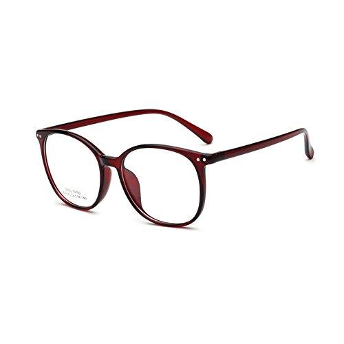 Big Round Glasses Frame Thin Rim Men Women Optical Eyeglasses Student - Optical Big Frames