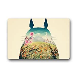 Custom japanese anime my neighbor totoro for Door mats amazon