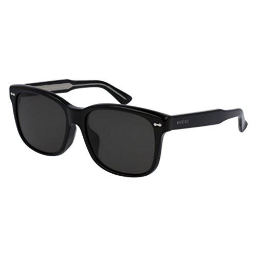 Sunglasses Gucci GG 0050 SA- 001 001 BLACK / GREY / BLACK