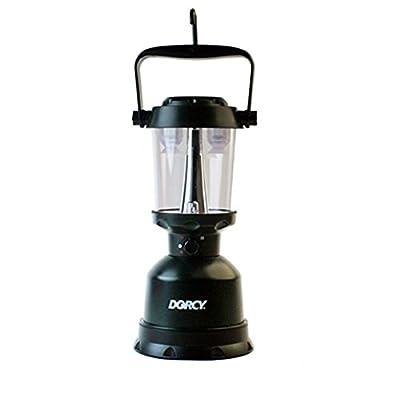 Dorcy 400-Lumen Waterproof Floating Outdoor Twin Globe LED Lantern with Hanger Hook and Handle, Green (41-3108)