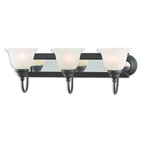 Livex Lighting 1003-75 Belmont 3 Bronze & Chrome Bath -