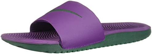 sports shoes d5b31 e8ea8 Nike Kawa Slide Men's Slippers, Purple, 8.5 UK (42.5 AE ...