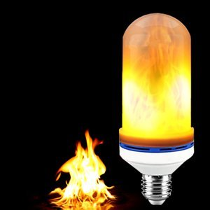 Led Flame Effect.Kronos Led Flame Effect Lightbulb Decorative Flickering Flame E26 E27 Bulbs Simulated Nature Fire