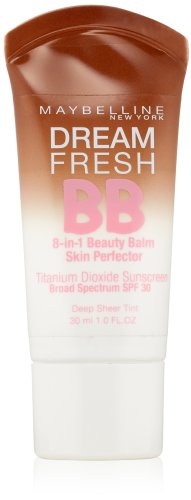Maybelline New York Dream Fresh BB Cream, Deep, 1 Fluid Ounc