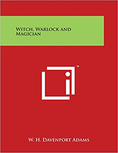 Book Witch, Warlock and Magician
