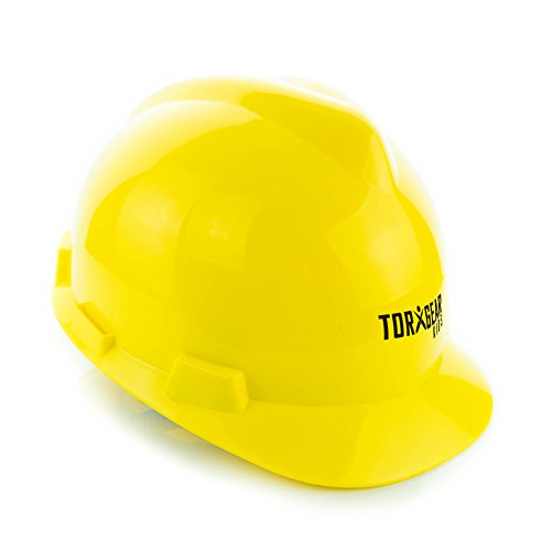 [Child's Hard Hat - Kid's Construction Helmet - Ages 7 to 12 - For Work Or Play by TorxGear Kids!] (Construction Girl Costume)